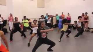 Machel Montano - Witch Doctor.  Soca Dance Workshop with La Shaun Prescott, Elle NYTT New York