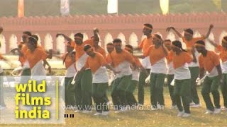 Cadets perform to A.R. Rehman