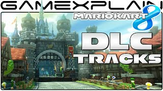 Mario Kart 8: All 8 DLC Tracks! (Full Race)