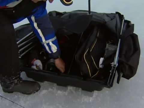 Canadian Sportfishing Icefishing For Whitefish & Lake Trout, Lake Simcoe ON Csf 23 05 03