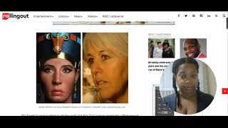 Nefertiti statue on Today show (Modern Day identity Theft of Ancient Artifacts)