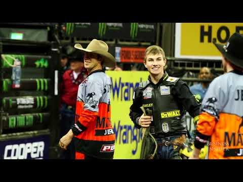 PBR Jess Lockwood 19-Year-old Bull Riding World Champion 2017
