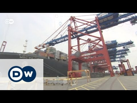 Navigating the Port of Hamburg by App | Made in Germany