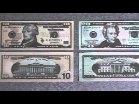 All US-Dollar banknotes - 1 US Dollar to 100.000 US Dollar in High Definition - HD