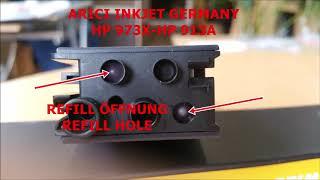 HP 973X REFILLANLEITUNG