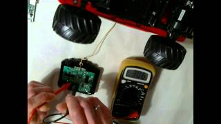 Pi-Cars ToolKit - explaining the controller and test points
