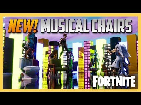 NEW! Fortnite Creative Musical Chairs! Code Inside | Swiftor