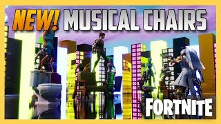 NEW! Fortnite Creative Musical Chairs! Code Inside | Swiftor