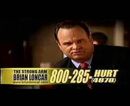 """Loncar's famous """"Strong Arm"""" commercial."""