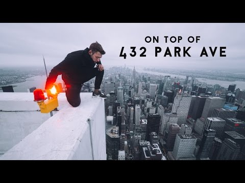 On top of 432 Park Avenue