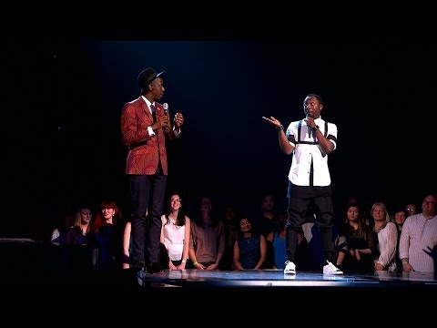 will.i.am & Jermain Jackman sing 'Pure Imagination' - The Voice UK 2014: The Live Finals - BBC
