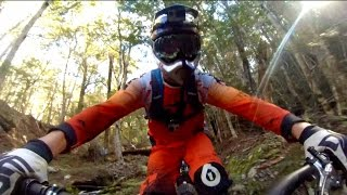 Freeride Mountain Bike POV in New Zealand - Through My Eyes w/ Aaron Chase