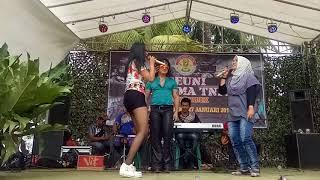 CHACHA ROMEO  JARAN GOYANG IBU ATIN ARUM GATUBIMA 1 TNI AD
