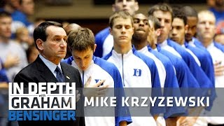 Coach K on coming clean to future wife on first date