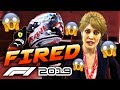 HOW MANY TIMES CAN YOU BE FIRED IN F1 2019 CAREER MODE?! | F1 2019 Game Experiment