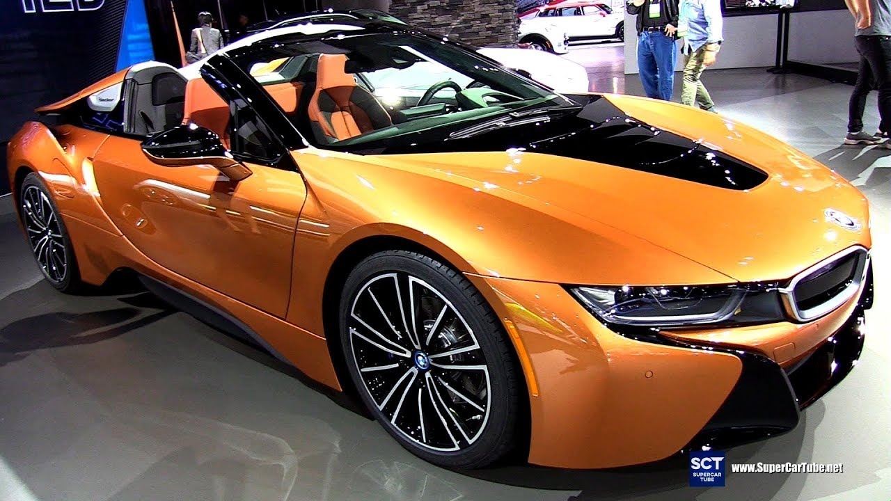 2018 Bmw I8 Roadster Exterior And Interior Walkaround Debut At