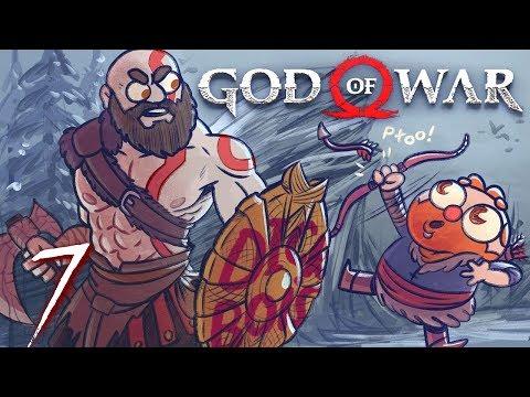 God of War HARD MODE (God of War 4) Part 7 - w/ The Completionist