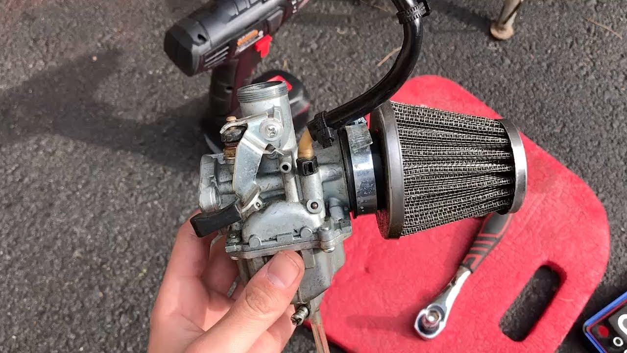 Ssr 125 Mikuni Carb Clean Pit Bike Youtube 125cc Wiring Diagram