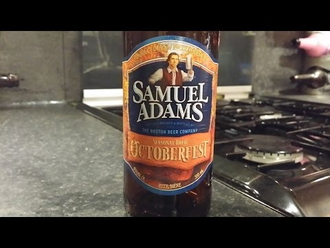 Samuel Adams Octoberfest By The Boston Beer Company | American Craft Beer Review