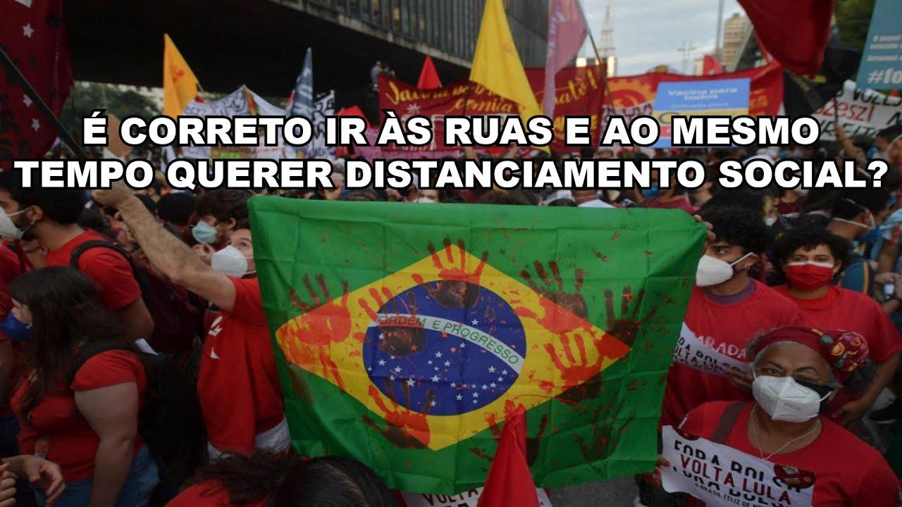 Povo na rua, Bolsonaro a culpa é sua. Todos no ato 19 de junho!