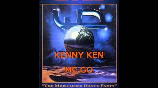 kenny Ken & MC GQ @ World Dance 30th July 1994