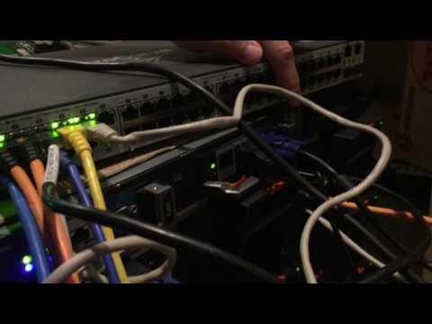 Dell PowerEdge M1000e 16 Slot Blade Server Chassis 96gb ram x5670 m610 blade