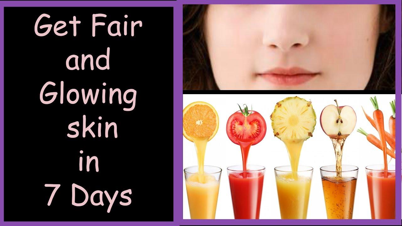 Best Drinks To Lighten Your Skin Naturally