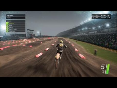 Supercross The Game - Daytona 250 World Record 1:05.2!