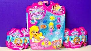 Splashlings Blind Bags Surprise Eggs Mermaid Toys for Children Ultra Rare Super Treasure
