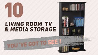 Top 10 Living Room Tv & Media Storage // New & Popular 2017