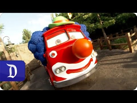 Join the Haul-O-Ween Fun in Cars Land at Disney California Adventure Park