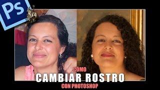 Cómo cambiar un rostro fácilmente con Photoshop