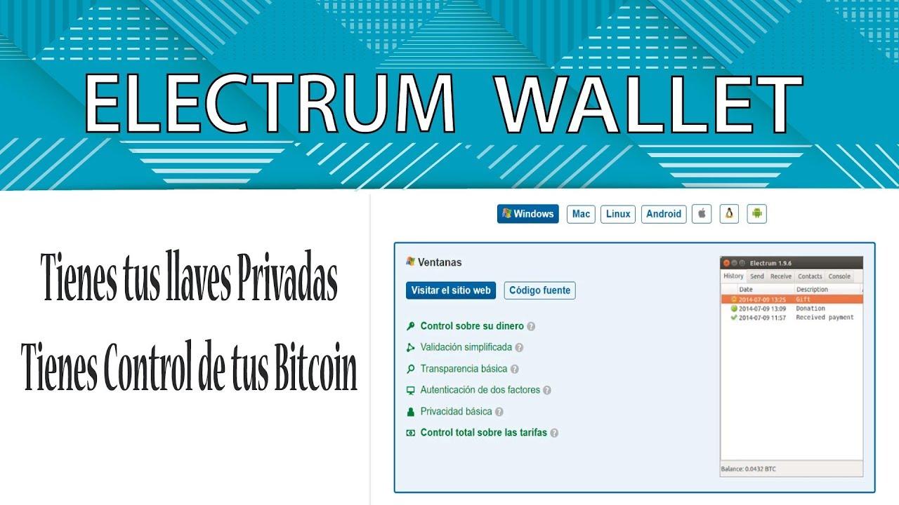 electrum wallet im test krypto