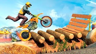 Ramp Bike Stunts Game #Best Android Gameplay #Bike Games To Play