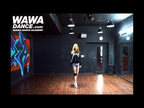 WAWA DANCE ACADEMY KARA MAMMA MIA DANCE STEP MIRRORED MODE