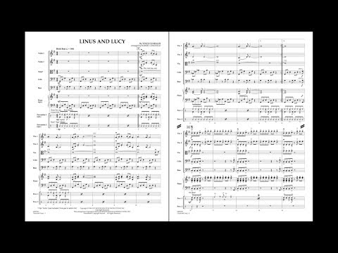 Linus and Lucy by Vince Guaraldi/arr. Robert Longfield