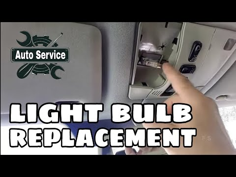 How to change a car interior light bulbs youtube for How to change interior light bulb in car