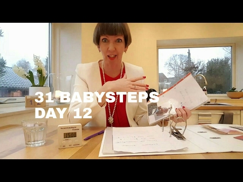 Flylady's 31 Babysteps Day 12 (time to hit the delete button)