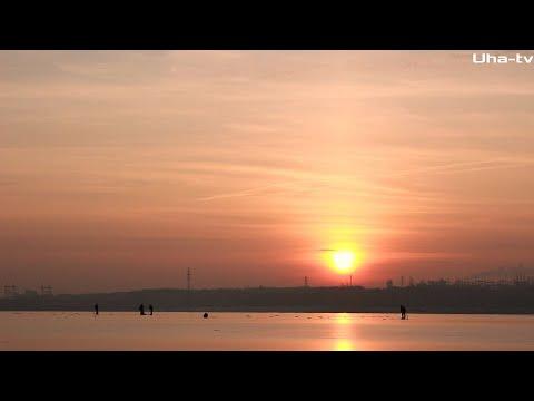 Рыбалка на Волге вблизи города 28.12. 2019. Планы на рыбалку в январе
