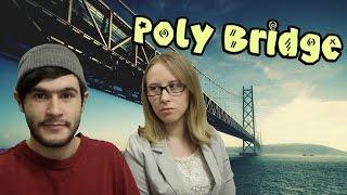 Poly Bridge ♦Строители Мостов♦ [ИНДИ ИГРЫ]