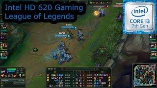intel hd 620 gaming league of legends i3 7100u i5 7200u i7 7500u kaby lake