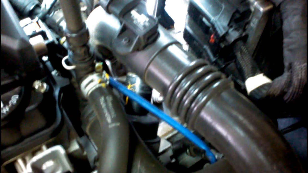 2012 Chevy Cruze 1 4 Turbo Oil Filter Youtube