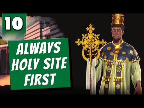 Civ 6 But I Build Holy Sites First - You're Attacking Me? How Cute [#10]