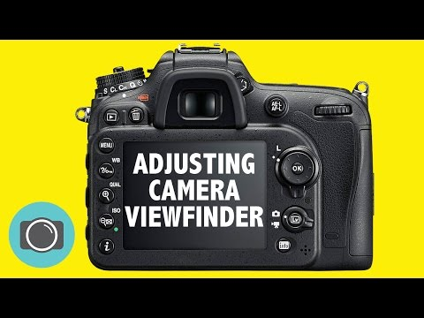 How to adjust your camera viewfinder / diopter