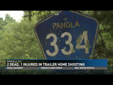 Two Dead and One Injured in Trailer Home Shooting in Panola County