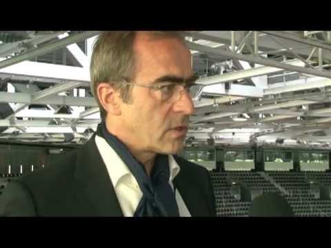 Interview mit Hubert Nienhoff von gmp Architekten auf der Heinze ArchitekTOUR 2012