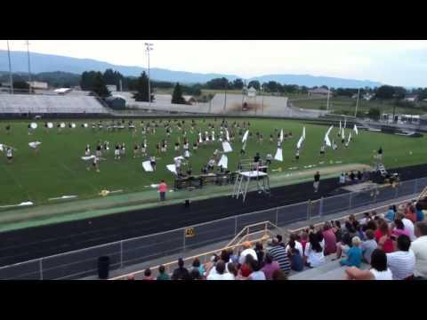 Seymour High School Band 8-5-2011