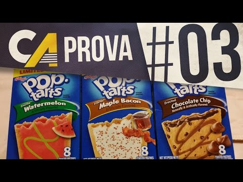 POP TARTS: MAPLE BACON, WATERMELON & CHOCOLATE CHIP | CA PROVA 03