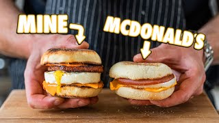 Making the McDonald's Egg McMuffin At Home   But Better