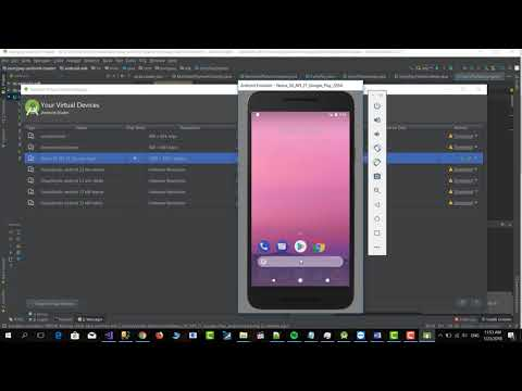 Xamarin Android How To Install And Run An Emulator With Google Play (January 2018)
